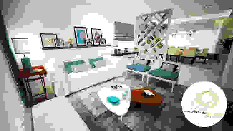 โดย Andreia Louraço - Designer de Interiores (Contacto: atelier.andreialouraco@gmail.com) โมเดิร์น ไม้ Wood effect