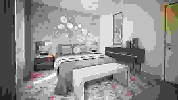 Dormitorios de estilo moderno de Andreia Louraço - Designer de Interiores (Contacto: atelier.andreialouraco@gmail.com) Moderno