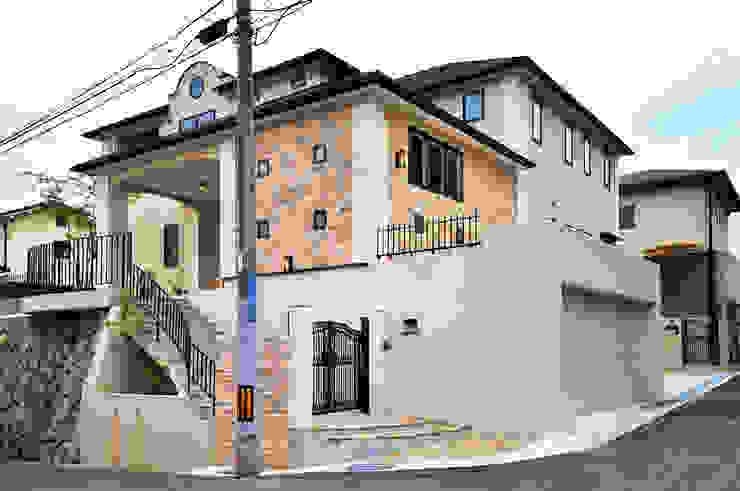施工事例5 モダンな 家 の ㈱K2一級建築士事務所 モダン