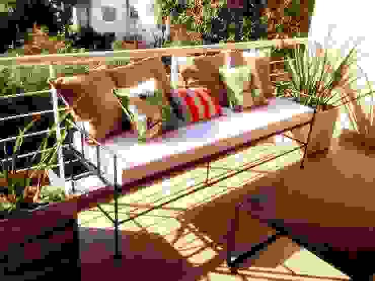 Muebles de hierro Balcones y terrazas modernos de Tienda de Hierros Moderno