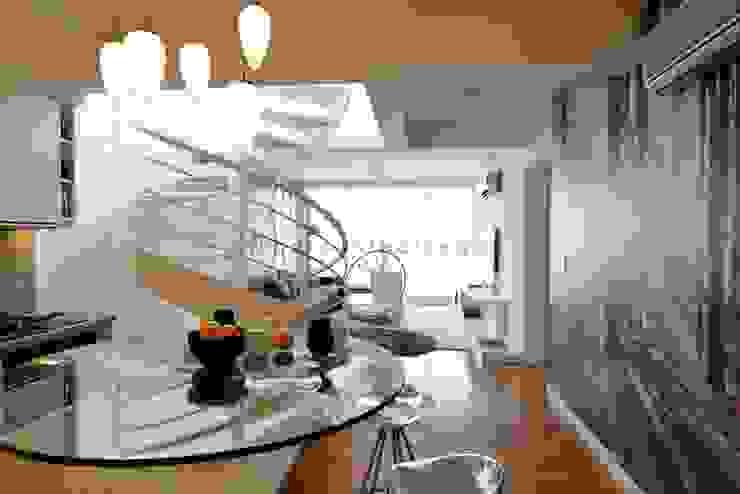 FORUM PUERTO NORTE Pasillos, vestíbulos y escaleras modernos de Barsante Disegno Moderno