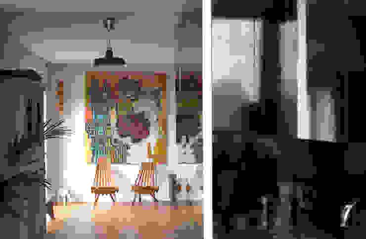 Apartamento BAC Cozinhas modernas por URBAstudios Moderno