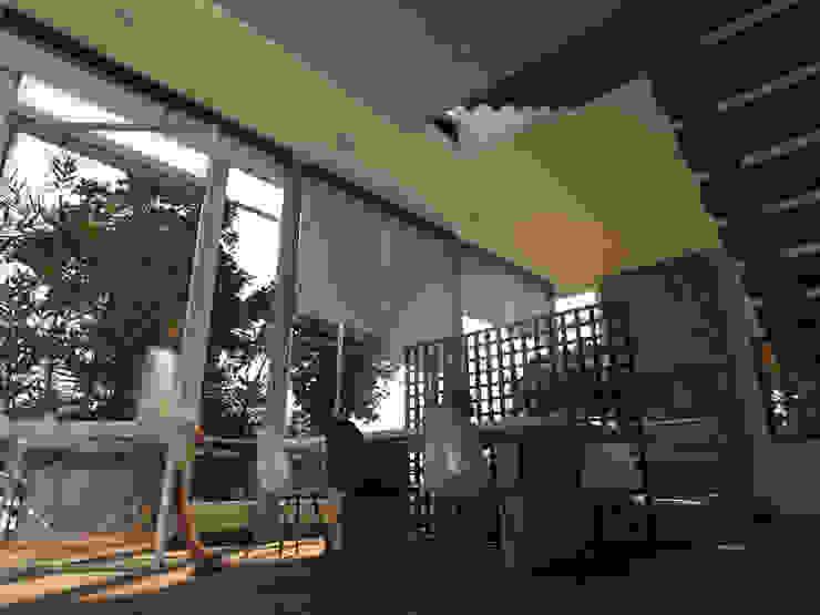 Comedor - Sala Comedores de estilo moderno de Gliptica Design Moderno Madera Acabado en madera