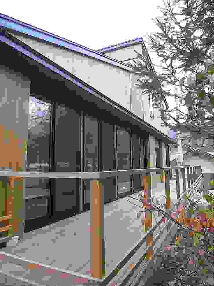 テラス オリジナルデザインの テラス の Unico design一級建築士事務所 オリジナル