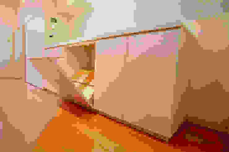 キッチン収納 オリジナルデザインの キッチン の Unico design一級建築士事務所 オリジナル