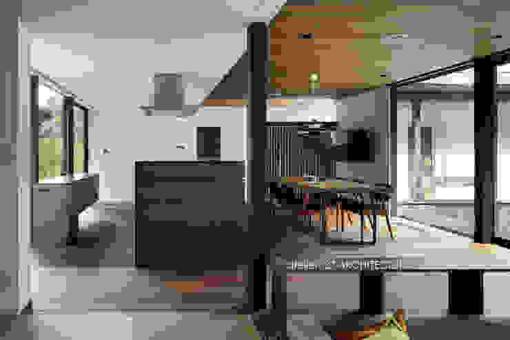 Modern Kitchen by atelier137 ARCHITECTURAL DESIGN OFFICE Modern