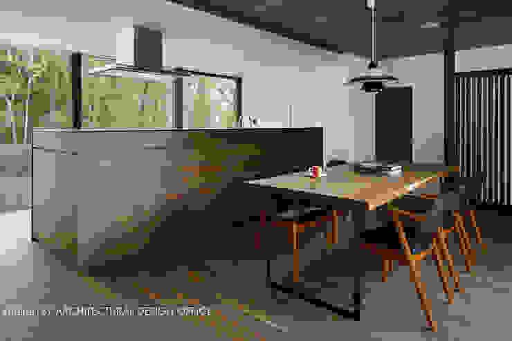 Modern Kitchen by atelier137 ARCHITECTURAL DESIGN OFFICE Modern Wood Wood effect