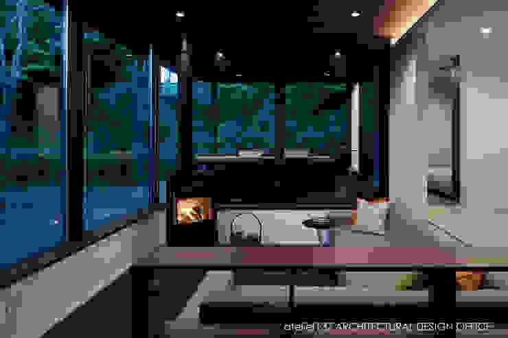 Modern Living Room by atelier137 ARCHITECTURAL DESIGN OFFICE Modern Tiles