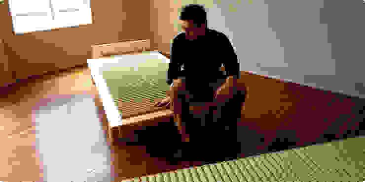 いぐさロール: 畳屋道場株式会社が手掛けたアジア人です。,和風