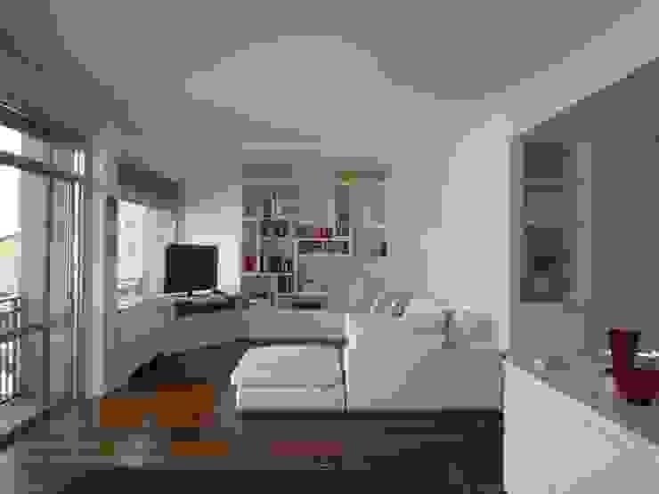 Progetto Gaby Ehringshausen 现代客厅設計點子、靈感 & 圖片