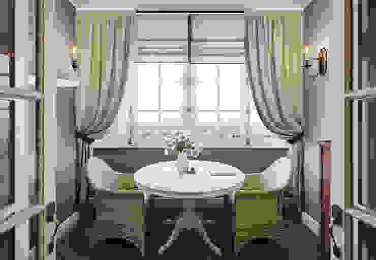 Квартира в ЖК ФилиЧета Кухни в эклектичном стиле от MARION STUDIO Эклектичный