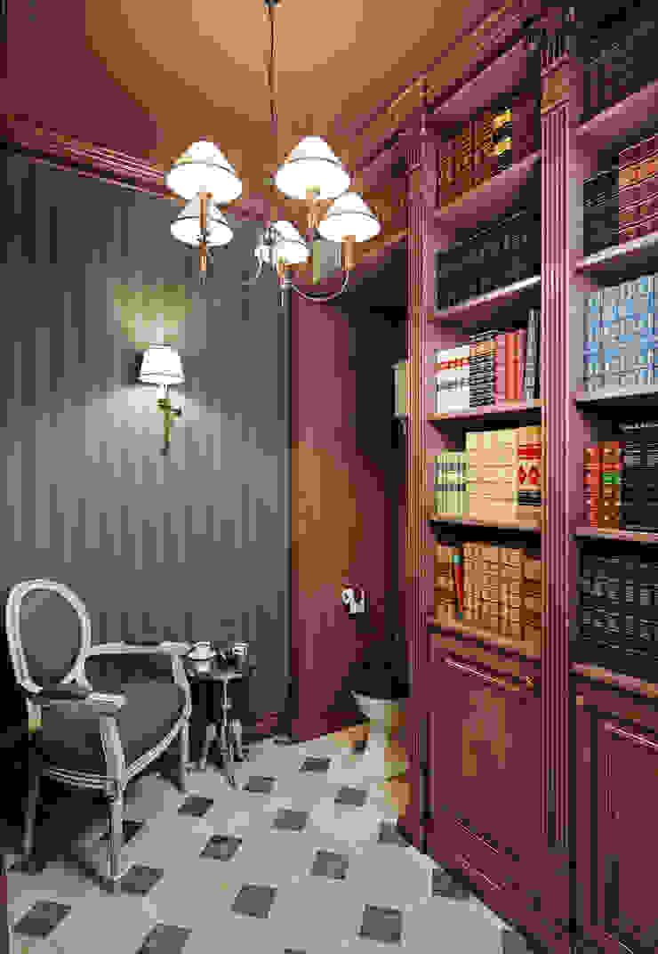 Квартира в ЖК ФилиЧета Ванная комната в эклектичном стиле от MARION STUDIO Эклектичный