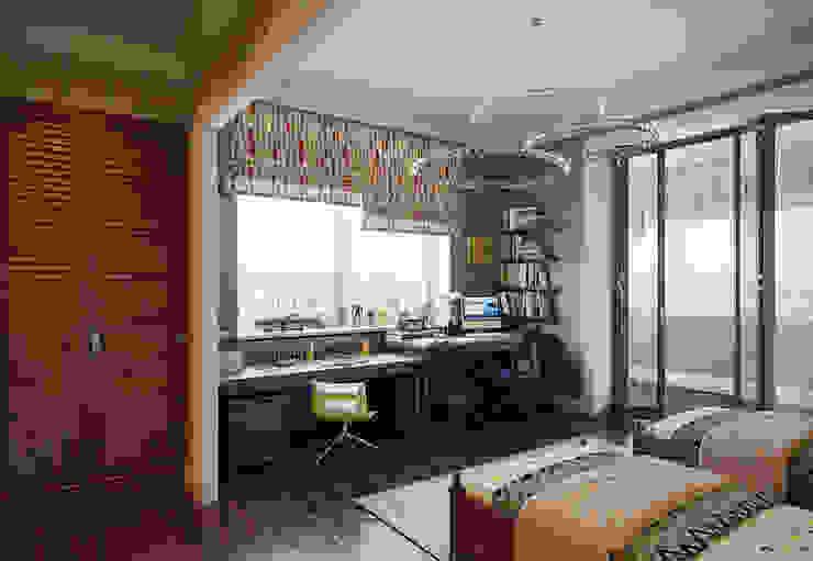 Квартира в ЖК ФилиЧета Детские комната в эклектичном стиле от MARION STUDIO Эклектичный
