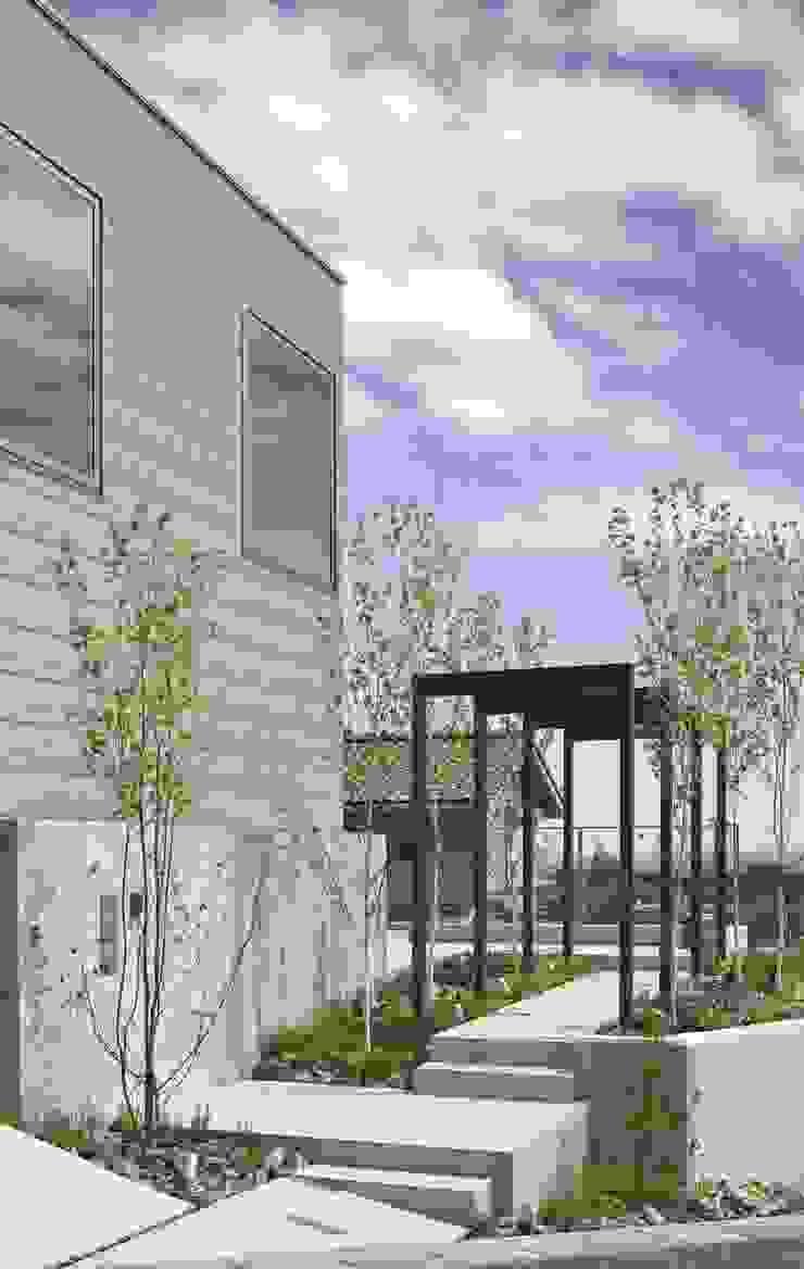 外観 オリジナルな 家 の SQOOL一級建築士事務所 オリジナル