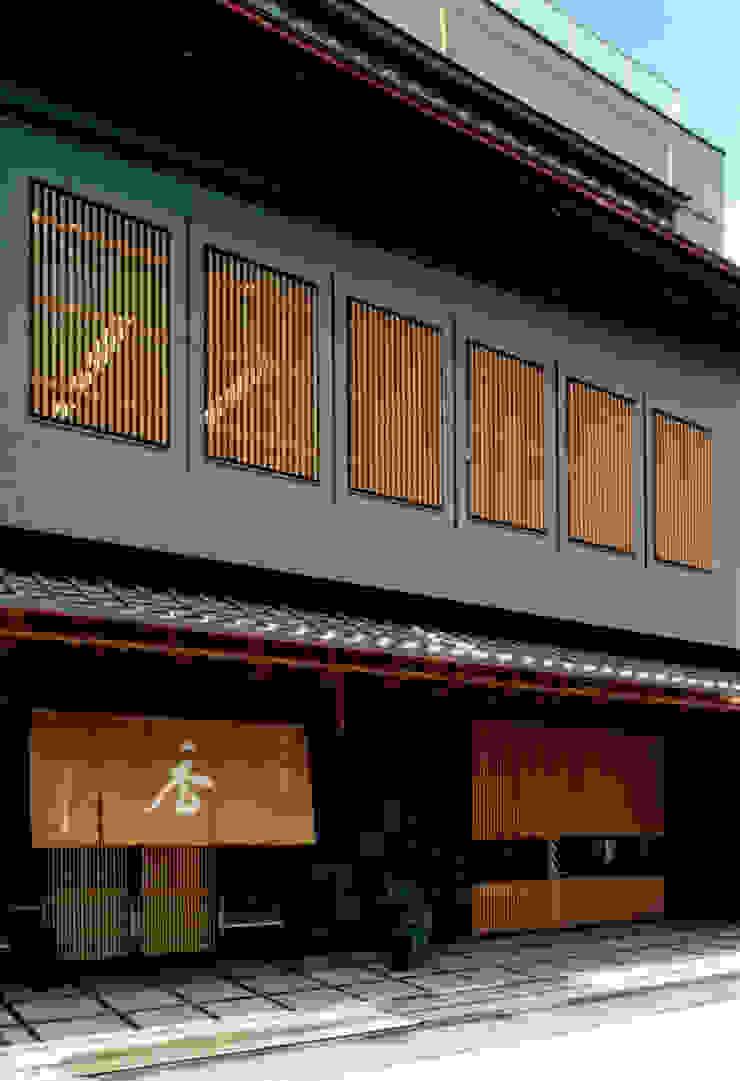 店舗棟外観2 日本家屋・アジアの家 の 株式会社 岡﨑建築設計室 和風