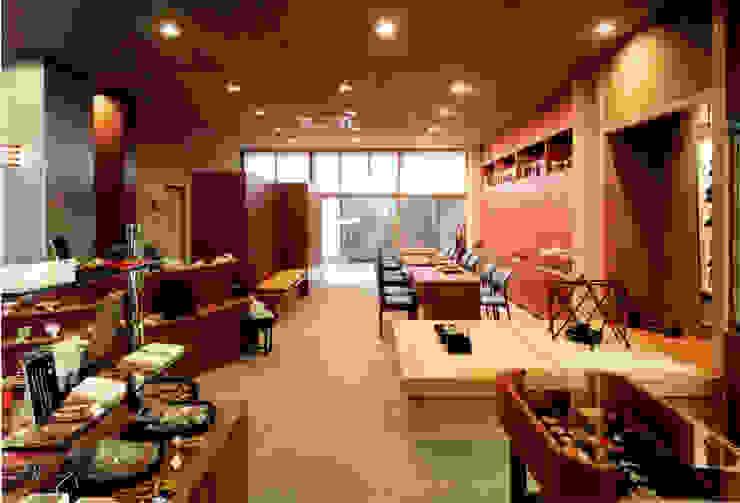 店舗3: 株式会社 岡﨑建築設計室が手掛けたアジア人です。,和風