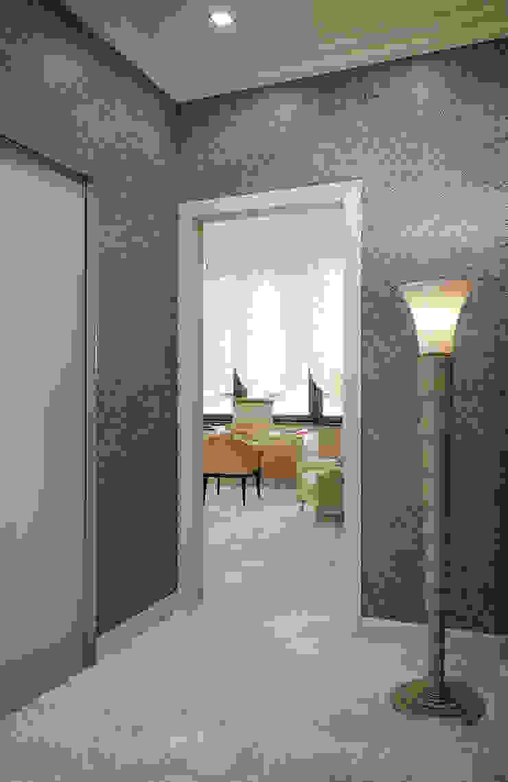 Квартира в ЖК Донское подворье Коридор, прихожая и лестница в эклектичном стиле от MARION STUDIO Эклектичный