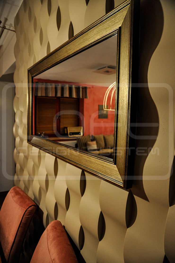 Panele Dekoracyjne 3D - Loft Design System - model Twist od Loft Design System Nowoczesny