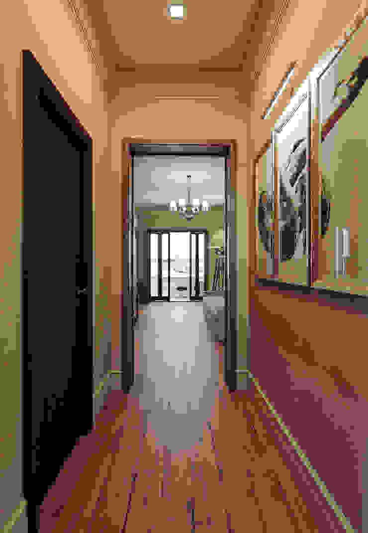 オリジナルスタイルの 玄関&廊下&階段 の MARION STUDIO オリジナル