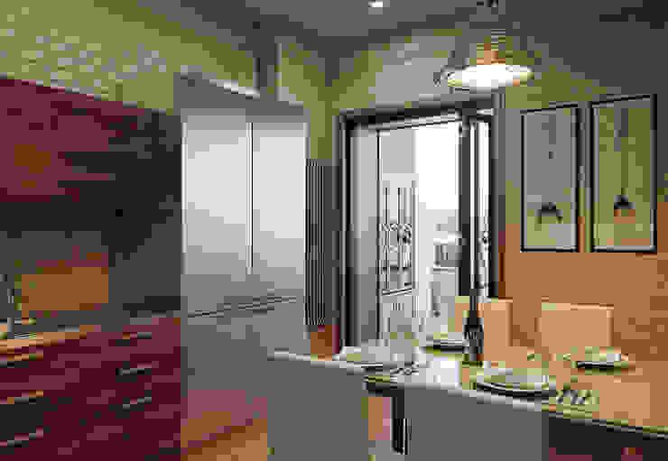 オリジナルデザインの キッチン の MARION STUDIO オリジナル