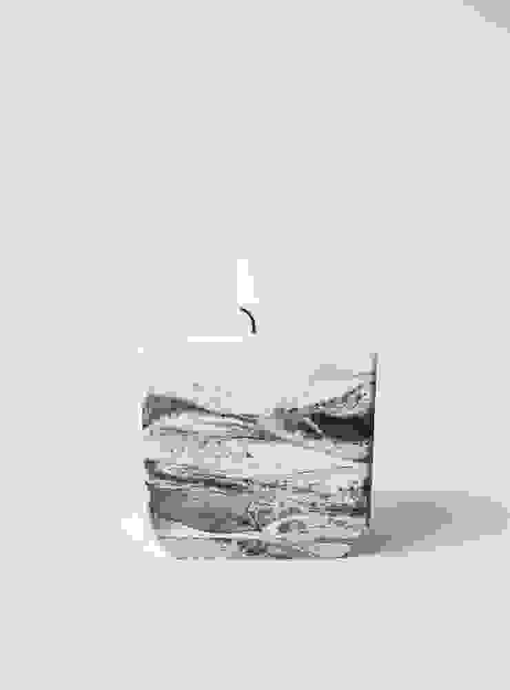 """Tealight holder """"marble"""" van STUDIOGWEN Minimalistisch"""