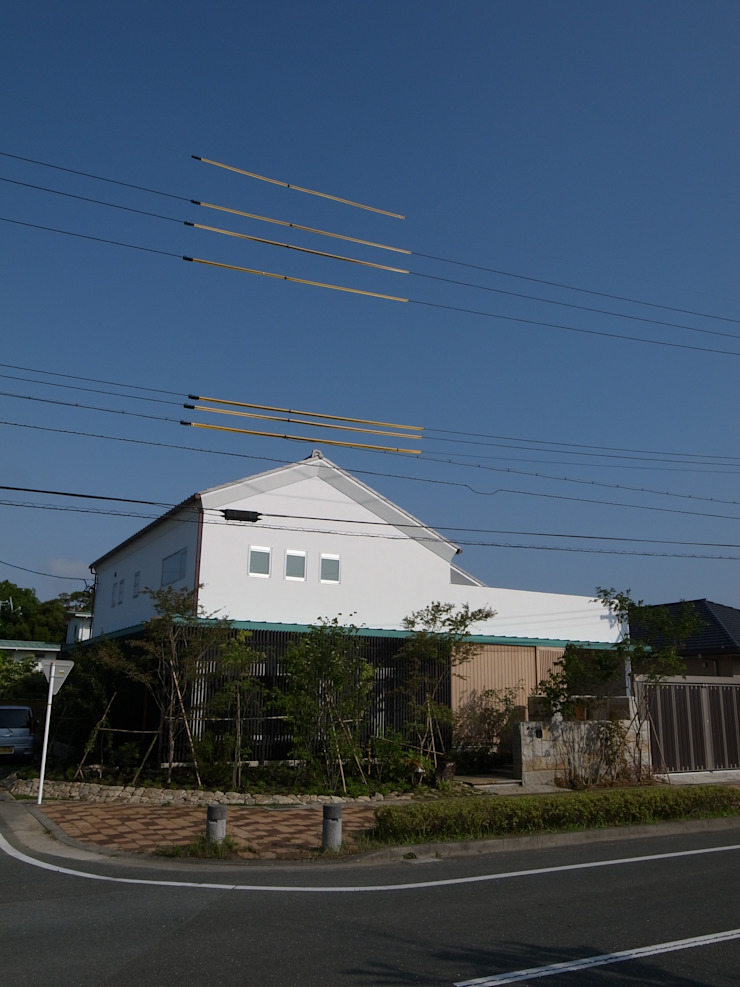 Eclectic style houses by Wats建築デザイン Eclectic