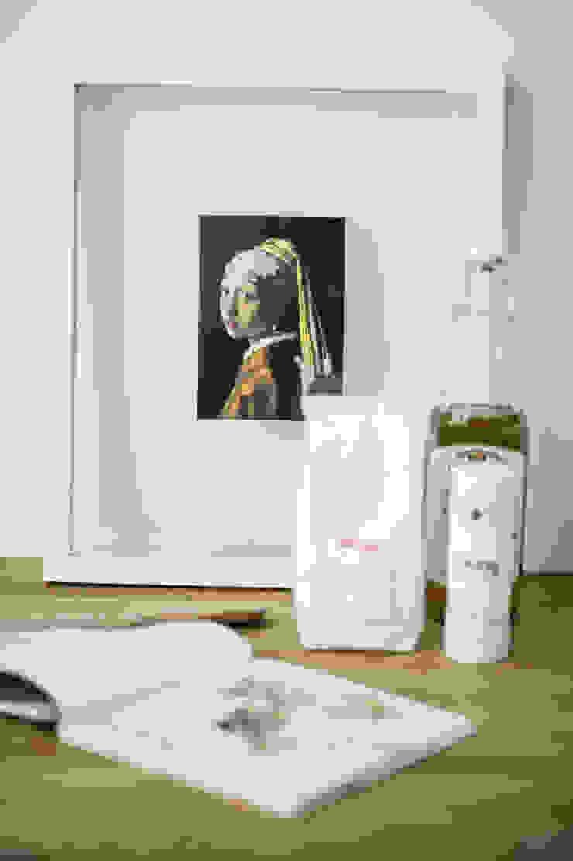 Woonhuis | Delft Design Studio Nu Scandinavische keukens Massief hout Wit