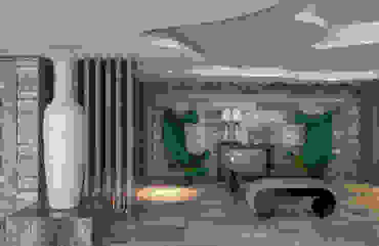Timeless with a twist Corredores, halls e escadas ecléticos por Viterbo Interior design Eclético