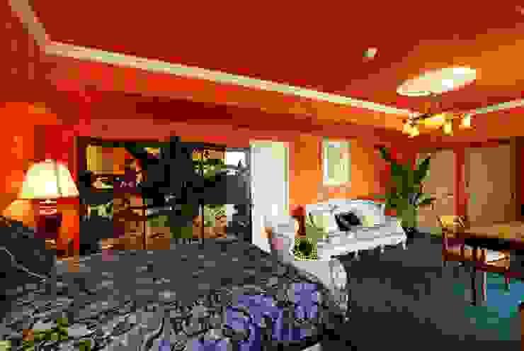 H邸MSリノベ モダンスタイルの寝室 の 株式会社トキメキデザイン・アトリエ モダン