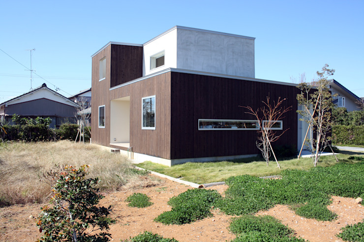 N-SOHO モダンな 家 の 有限会社トレック建築設計室 一級建築士事務所 モダン
