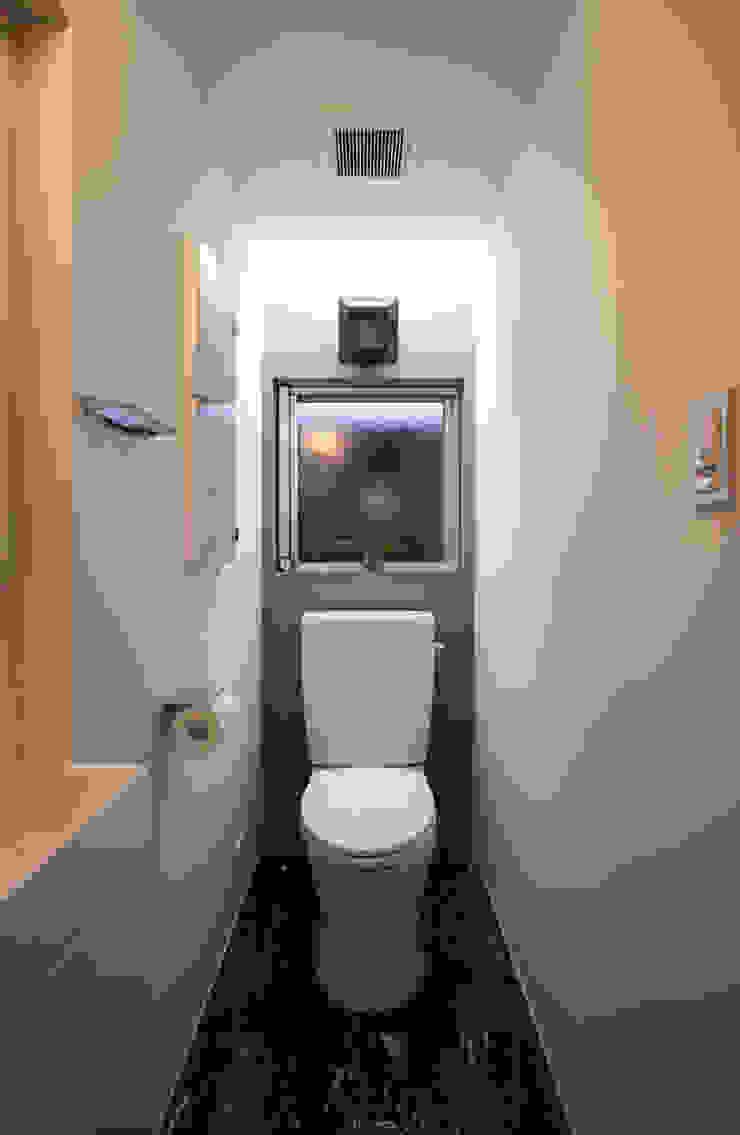 N-SOHO モダンスタイルの お風呂 の 有限会社トレック建築設計室 一級建築士事務所 モダン