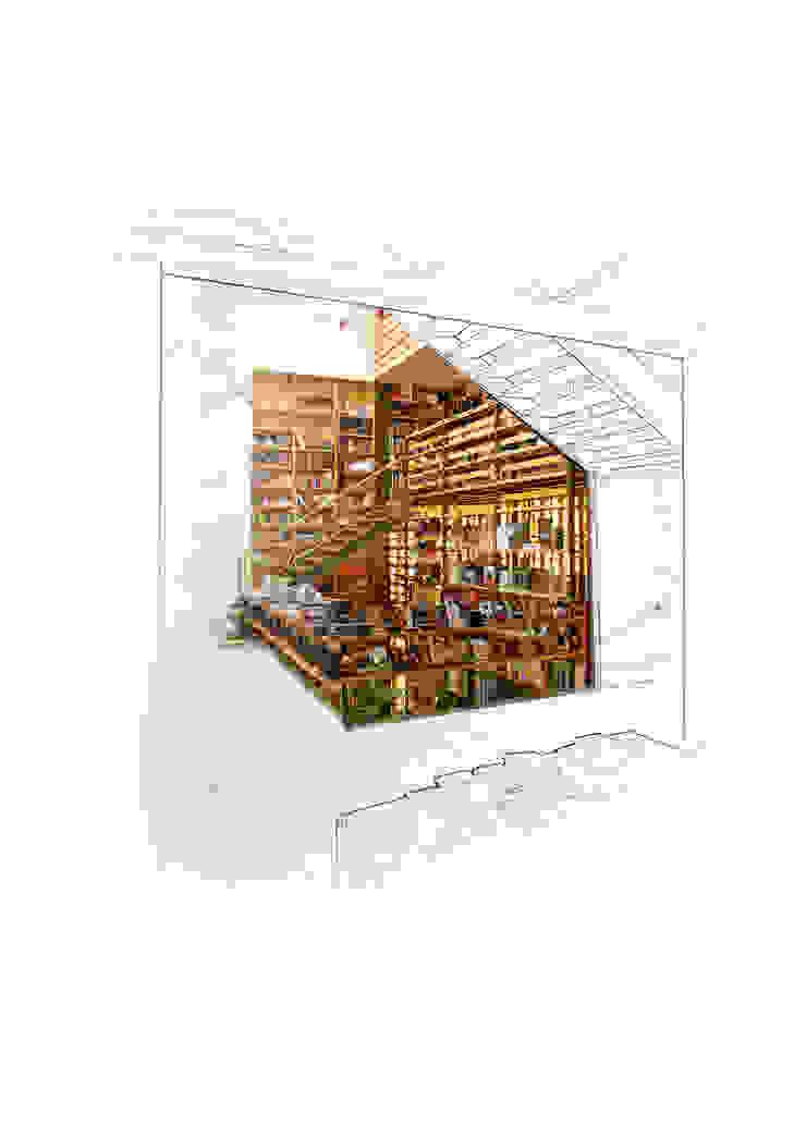 Carfebrería El Péndulo de Buro Verde Arquitectura s.c. Moderno
