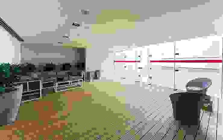 Modern corridor, hallway & stairs by .NESS Reklam ve Fotoğrafçılık Modern