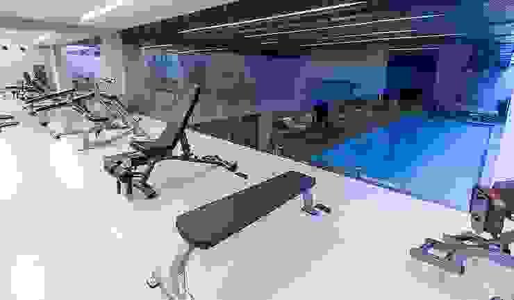 Modern gym by .NESS Reklam ve Fotoğrafçılık Modern