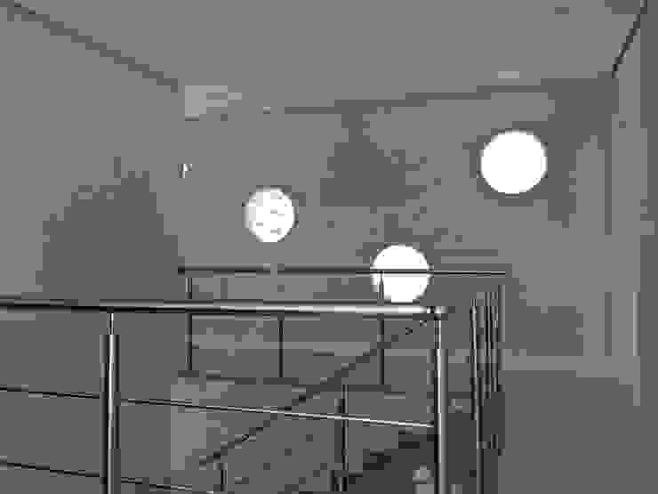 Ecovillage House Corredores, halls e escadas modernos por Sartori Arquitetos Moderno