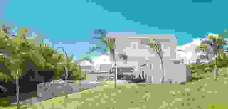 Casa Galeria Casas modernas de Giovanni Moreno Arquitectos Moderno