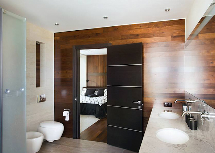 Minimalism Ванная комната в стиле минимализм от kvartalstudio Минимализм