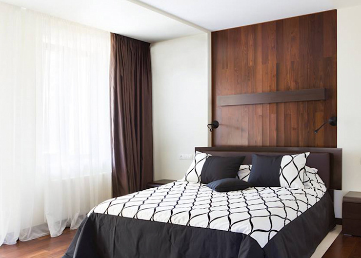 Bedroom by kvartalstudio, Minimalist