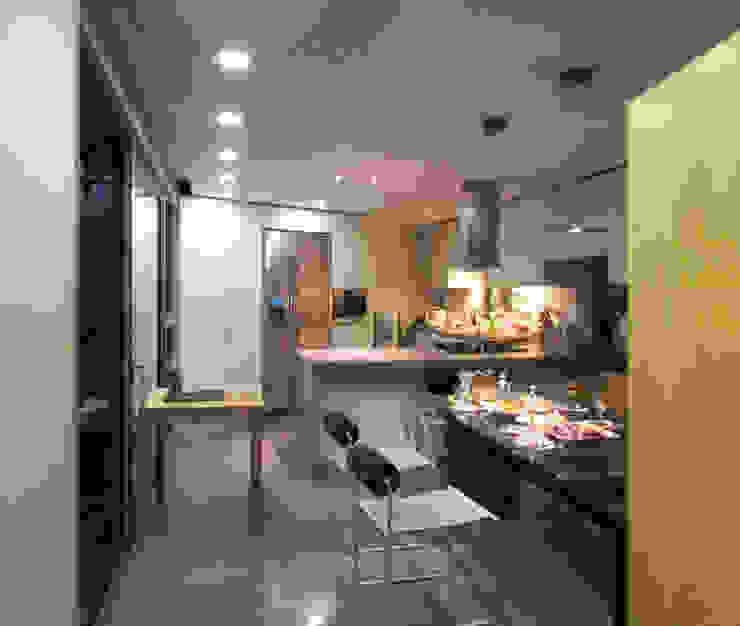반포 577 주택 모던스타일 다이닝 룸 by 한울건축 모던