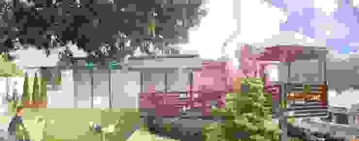 Imaginario Gazzebo + Terraza B17 de Vertice Oficina de Arquitectura Minimalista
