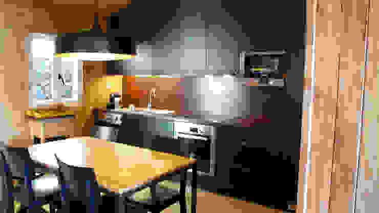 Cozinha Cozinhas campestres por LOFTAPM II DESIGN DEC INTERIORES LDA Campestre