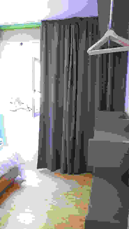 Casa no Gerês Quartos campestres por LOFTAPM II DESIGN DEC INTERIORES LDA Campestre