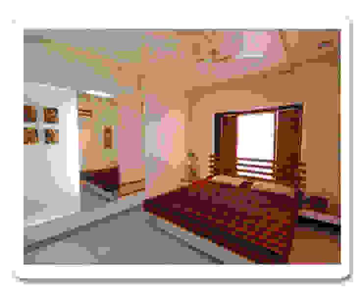 Apartment ( bedroom) Modern style bedroom by Samyak c2 Infra Pvt. Ltd. Modern