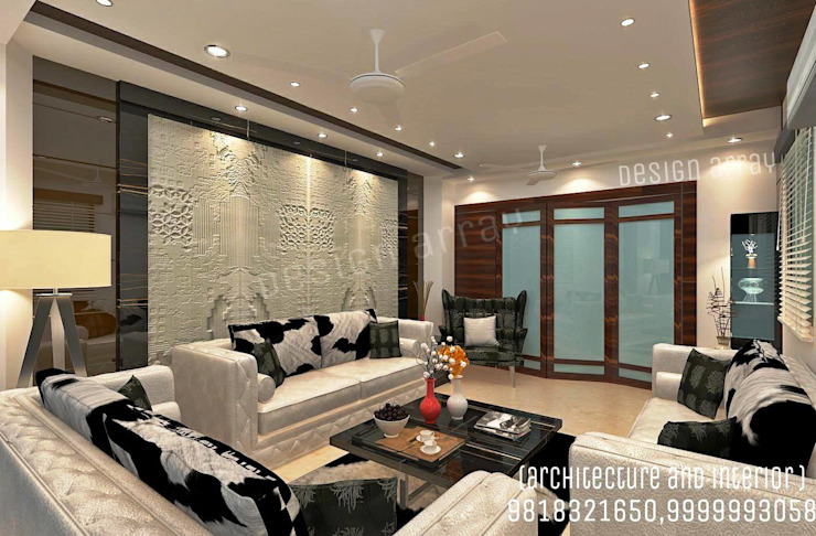 Living Area Modern living room by design.array09 Modern
