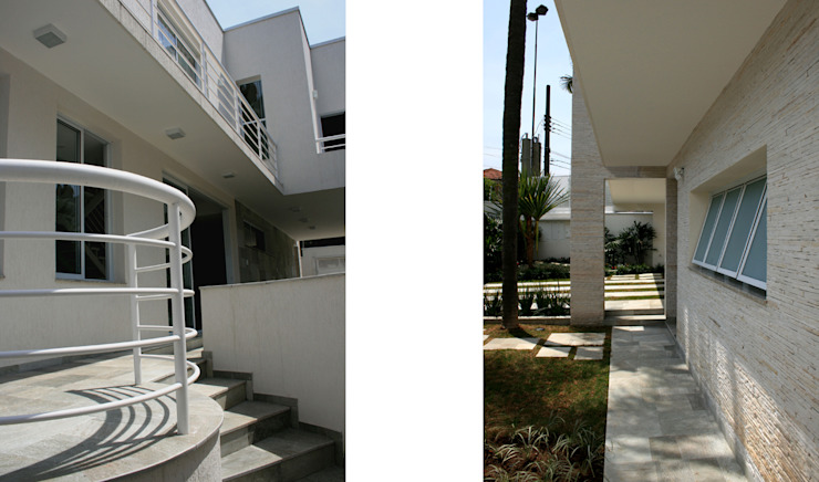 CASA DE ALTO PADRÃO Casas modernas por ZEPPELINI ASSOCIADOS Moderno Mármore