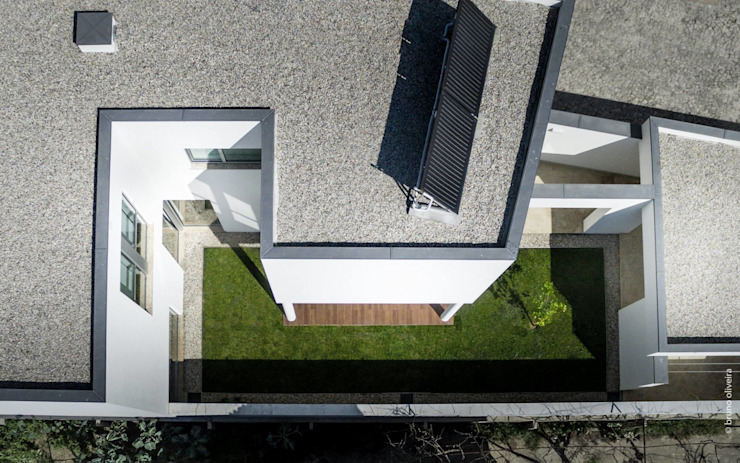 casa 116 Jardins modernos por bo | bruno oliveira, arquitectura Moderno Madeira Acabamento em madeira