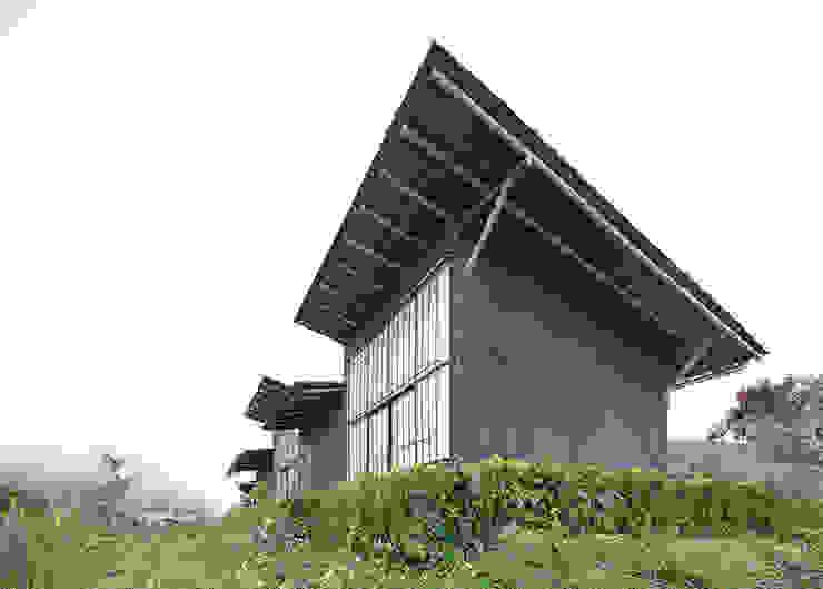 Centro de Producción de orgánicos Chilsec Casas rústicas de Komoni Arquitectos Rústico Piedra