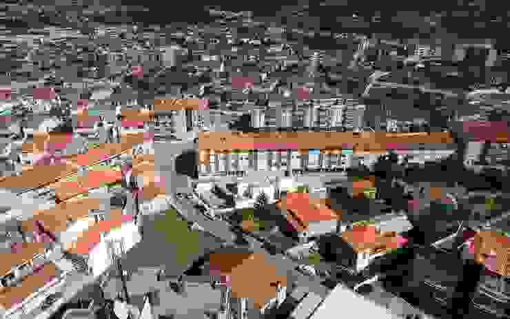 casa 116 Casas modernas por bo | bruno oliveira, arquitectura Moderno Madeira Acabamento em madeira