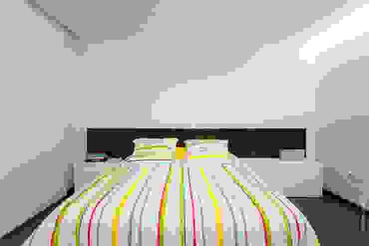 casa 116 Quartos modernos por bo | bruno oliveira, arquitectura Moderno Madeira Acabamento em madeira