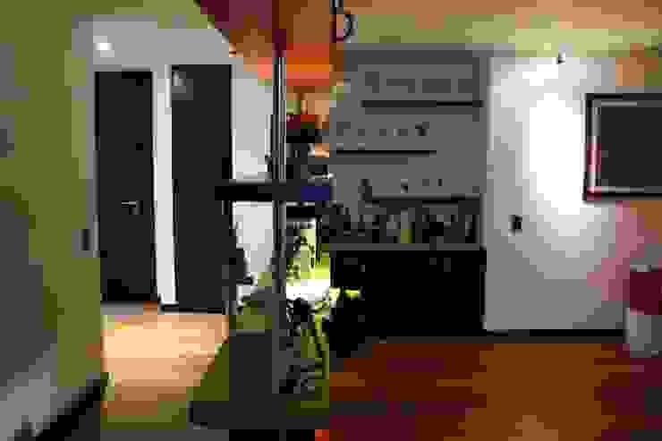 Apartamento Daniel Anzola Salas modernas de Heritage Design Group Moderno